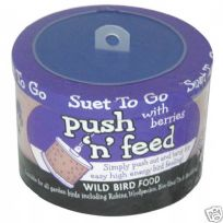 6 x Suet to Go Easy Feeders for wild garden birds : Choose Berry, Fruit or Insect